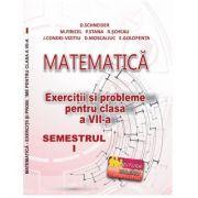 Matematica, exercitii si probleme pentru clasa a VII-a, semestrul I 2020 - Delia Schneider