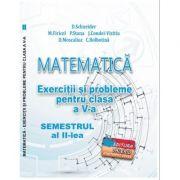 Matematica. Exercitii si probleme clasa a V-a Semestrul al II-lea - Delia Schneider