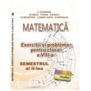 Matematica. Exercitii si probleme clasa a VIII-a Semestrul al II-lea - Delia Schneider