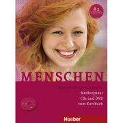 Menschen A1 Medienpaket 3 Audio-CDs und 1 DVD zum Kursbuch - Sandra Evans, Angela Pude, Franz Specht
