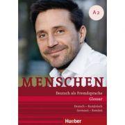 Menschen A2 Glossar Deutsch-Rumanisch Glosar Germana–Romana - Daniela Niebisch