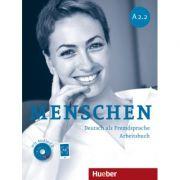 Menschen A2. 2 Arbeitsbuch mit Audio-CD - Anna Breitsameter, Angela Pude, Sabine Glas-Peters