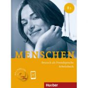 Menschen B1 Arbeitsbuch mit 2 Audio-CDs - Anna Breitsameter, Sabine Glas-Peters, Angela Pude