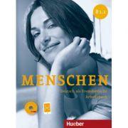 Menschen B1. 1 Arbeitsbuch mit Audio-CD - Anna Breitsameter, Angela Pude, Sabine Glas-Peters