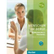Menschen im Beruf Bewerbungstraining Kursbuch mit Audio-CD - Corinna Gerhard