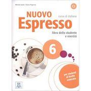 Nuovo Espresso 6 (libro + CD audio)/ Expres nou 6 (carte + CD audio). Curs de italiana C2. Carte si exercitii pentru elevi - Chiara Pegoraro, Michela Guida