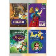 Pachet de autor Ioana Nicolaie ( Arik, Ferbonia, Vertijia, Spionul Kme) - Ioana Nicolaie