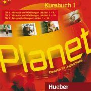 Planet 1 3 Audio-CDs zum Kursbuch Deutsch fur Jugendliche - Gabriele Kopp, Siegfried Buttner