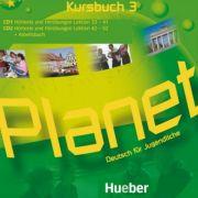 Planet 3 2 Audio-CDs zum Kursbuch Deutsch fur Jugendliche - Gabriele Kopp, Siegfried Buttner, Josef Alberti