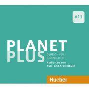 Planet Plus A1. 1 2 Audio-CDs zum Kursbuch, 1 Audio-CD zum Arbeitsbuch Deutsch fur Jugendliche - Gabriele Kopp, Josef Alberti, Siegfried Buttner