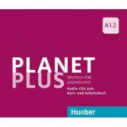Planet Plus A1. 2 2 Audio-CDs zum Kursbuch, 1 Audio-CD zum Arbeitsbuch Deutsch fur Jugendliche - Gabriele Kopp, Josef Alberti, Siegfried Buttner