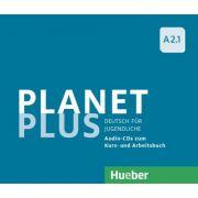 Planet Plus A2. 1 2 Audio-CDs zum Kursbuch, 1 Audio-CD zum Arbeitsbuch Deutsch fur Jugendliche - Gabriele Kopp, Josef Alberti, Siegfried Buttner
