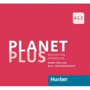 Planet Plus A2. 2 2 Audio-CDs zum Kursbuch, 1 Audio-CD zum Arbeitsbuch Deutsch fur Jugendliche - Gabriele Kopp