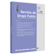 Revista de drept public nr. 3-4/2020 - Nicolae Popa