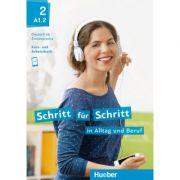 Schritt fur Schritt in Alltag und Beruf 2 Kursbuch + Arbeitsbuch - Daniela Niebisch