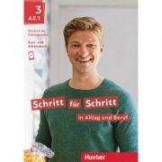 Schritt fur Schritt in Alltag und Beruf 3 Kursbuch + Arbeitsbuch - Daniela Niebisch