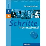 Schritte international 3+4, Intensivtrainer + CD - Daniela Niebisch