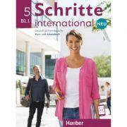 Schritte international Neu 5 Kursbuch+Arbeitsbuch+CD zum Arbeitsbuch - Silke Hilpert