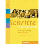 Schritte international Prufungstraining Zertifikat B1 - Brigitte Schaefer, Frauke van der Werff
