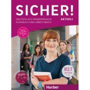 Sicher! aktuell B2. 1 Kurs- und Arbeitsbuch mit MP3-CD zum Arbeitsbuch, Lektion 1–6 - Michaela Perlmann-Balme