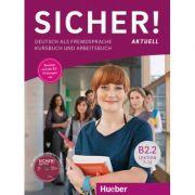 Sicher! aktuell B2. 2 Kurs- und Arbeitsbuch mit MP3-CD zum Arbeitsbuch, Lektion 7-12 - Michaela Perlmann-Balme