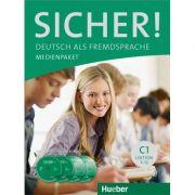 Sicher! C1 Medienpaket 2 Audio-CDs und 2 DVDs zum Kursbuch - Michaela Perlmann-Balme