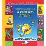 Supercartea de activitati pentru baieti