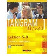 Tangram aktuell 1, Kursbuch + Arbeitsbuch, Lektion 5-8 + CD zum Arbeitsbuch - Til Schonherr