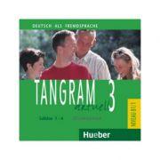 Tangram aktuell 3, Lektion 1-4, CD zum Kursbuch - Rosa-Maria Dallapiazza