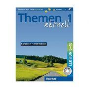 Themen aktuell 1, Kursbuch und Arbeitsbuch, Lektion 6-10 - Hartmut Aufderstrasse
