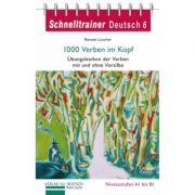 1000 Verben im Kopf Ubungsgrammatik Lernworterbuch der Verben mit und ohne Vorsilbe - Renate Luscher