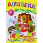 Alfabetul animalelor. 62 autocolante