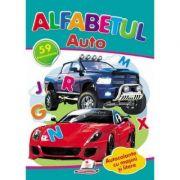 Alfabetul auto. 59 autocolante