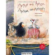 Arthur und Anton, Deutsch-Englisch