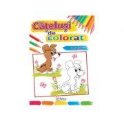 Catelusi de colorat