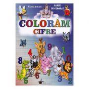 Coloram Cifrele, 2-6 ani