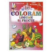 Coloram Legume si fructe, 2-6 ani