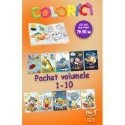 Colorici - Pachet volumele 1-10