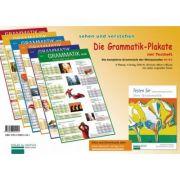 Die Grammatik-Plakate A1-A2 Testheft und 6 Plakate - Renate Luscher