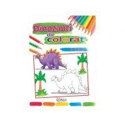 Dinozauri de colorat