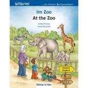 Im Zoo Kinderbuch Deutsch-Englisch - Irene Brischnik, Ulrike Fischer