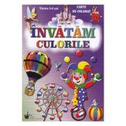 Invatam culorile, 2-6 ani
