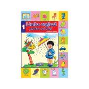 Limba Engleza pentru cei mici Nr. 1. Carte + CD audio - Georgiana Lupescu