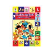 Limba Engleza pentru cei mici Nr 3. Carte + CD audio - Georgiana Lupescu