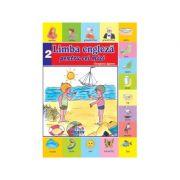 Limba Engleza pentru cei mici Nr. 2. Carte + CD audio - Georgiana Lupescu