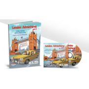 London Adventures Limba engleza pentru clasa a III-a, semestrul al II-lea - Robert Bondoroi