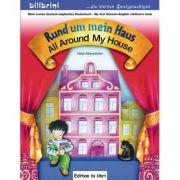 Rund um mein Haus Kinderbuch Deutsch-Englisch All Around My House - Helja Albersdorfer