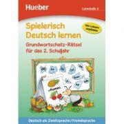 Spielerisch Deutsch lernen Grundwortschatz-Ratsel fur das 2. Schuljahr - Sabine Kalwitzki