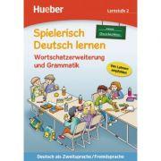 Spielerisch Deutsch lernen neue Geschichten Wortschatzerweiterung und Grammatik Lernstufe 2 - Marion Techmer, Maximilian Low