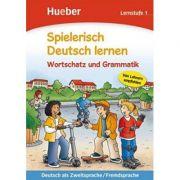 Spielerisch Deutsch lernen Wortschatz und Grammatik Lernstufe 1 Buch - Agnes Holweck, Bettina Trust